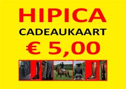 Cadeaukaart 5 euro